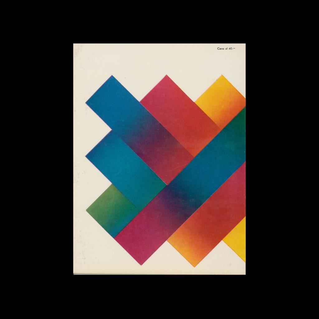 Projekt 82, 3, 1971. Cover design by Roslaw Szaybo
