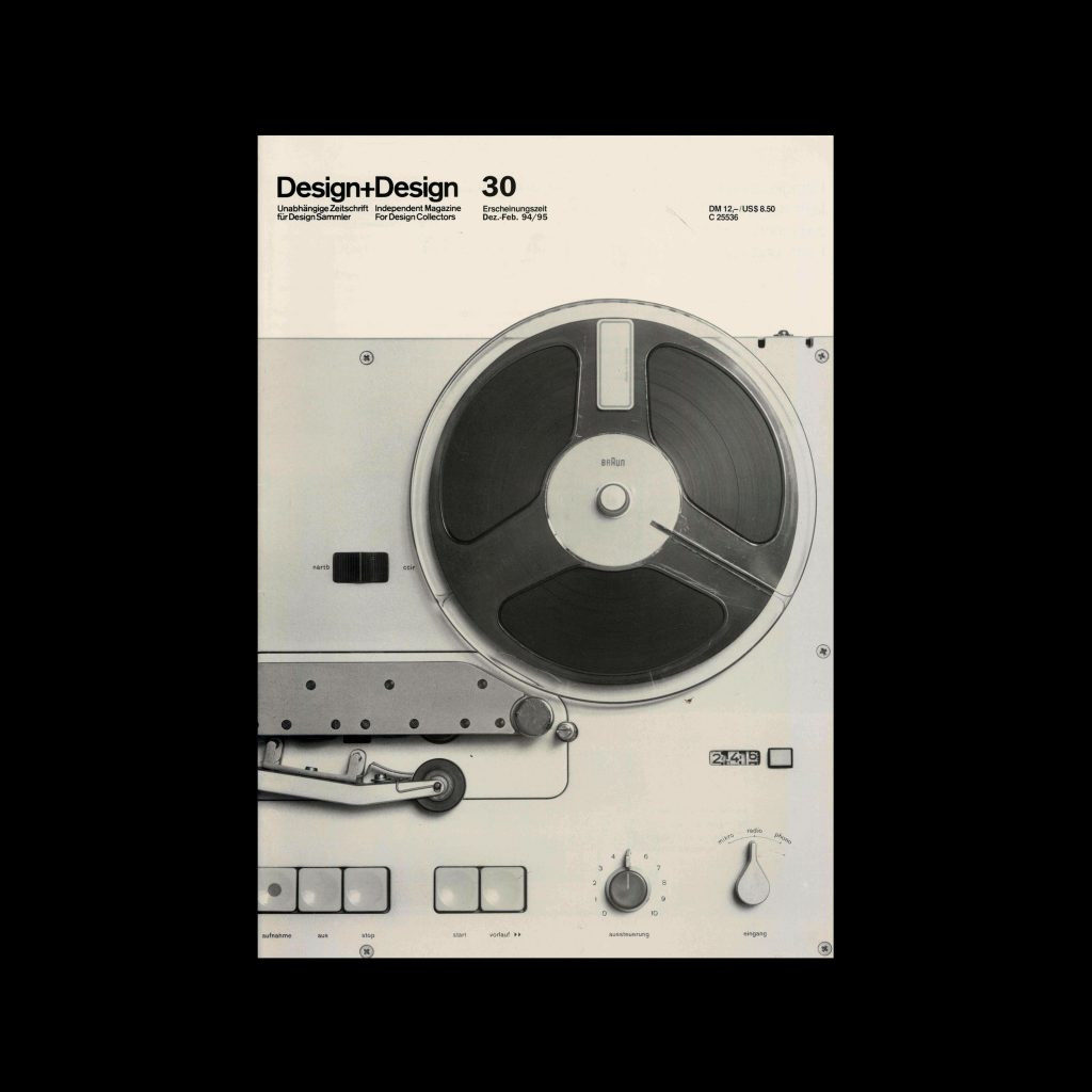 Design+Design, 30, 1994. Designed by Jo Klatt.