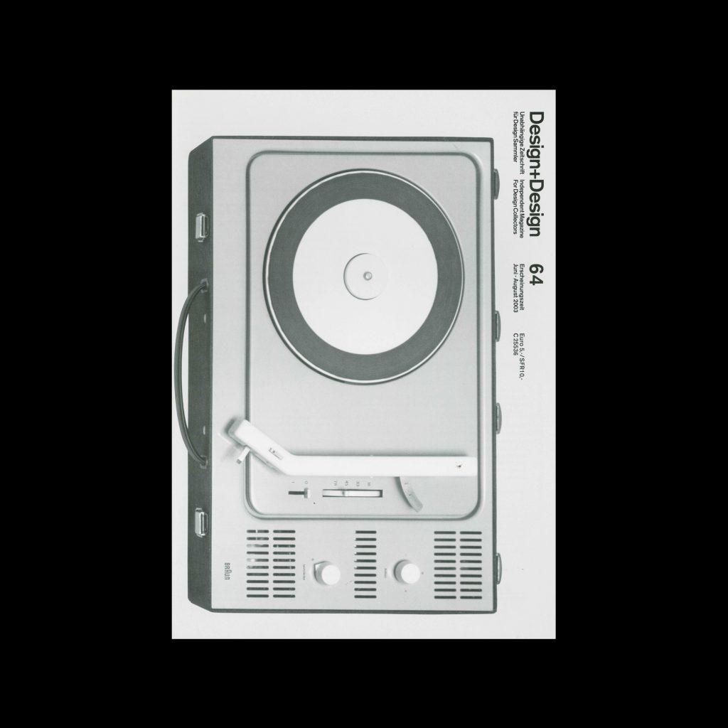 Design+Design, 64, 2003. Designed by Jo Klatt.