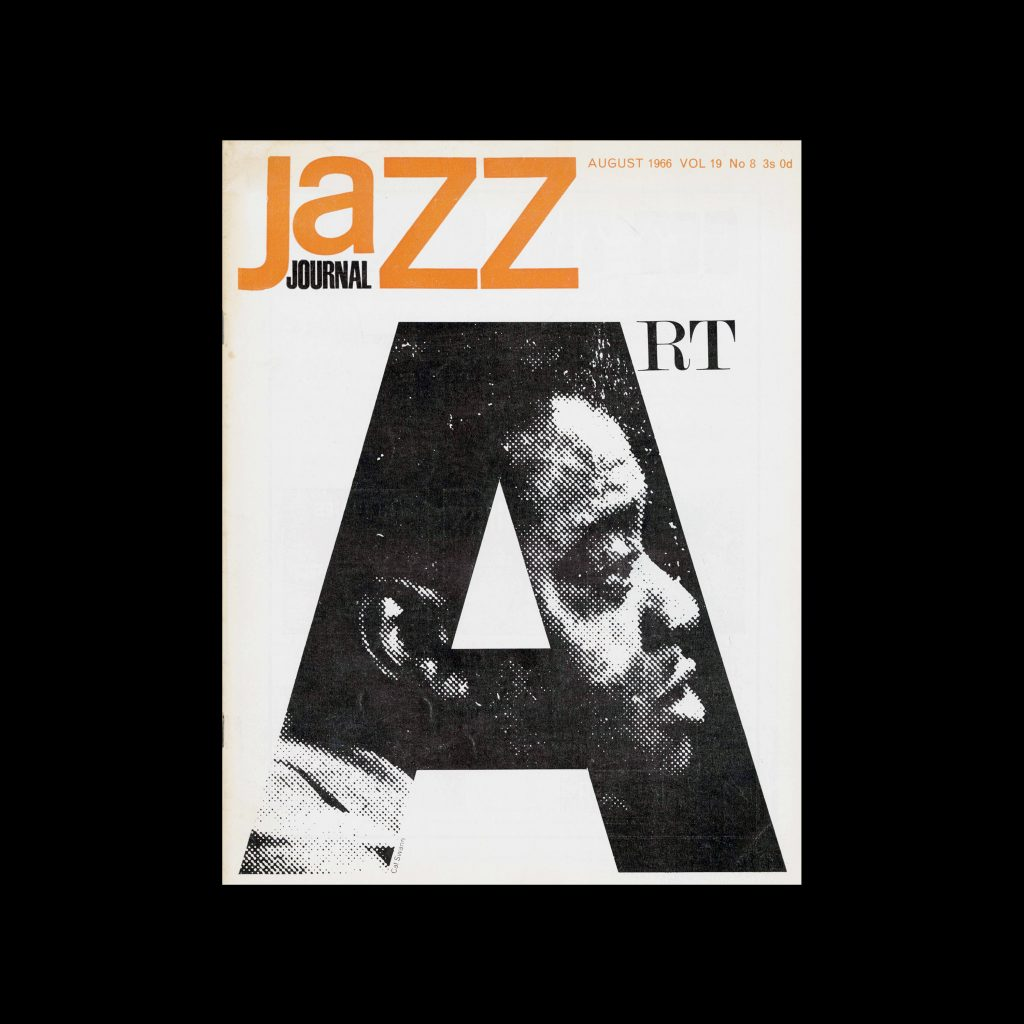 Jazz Journal, 8, 1966. Cover design by Cal Swann
