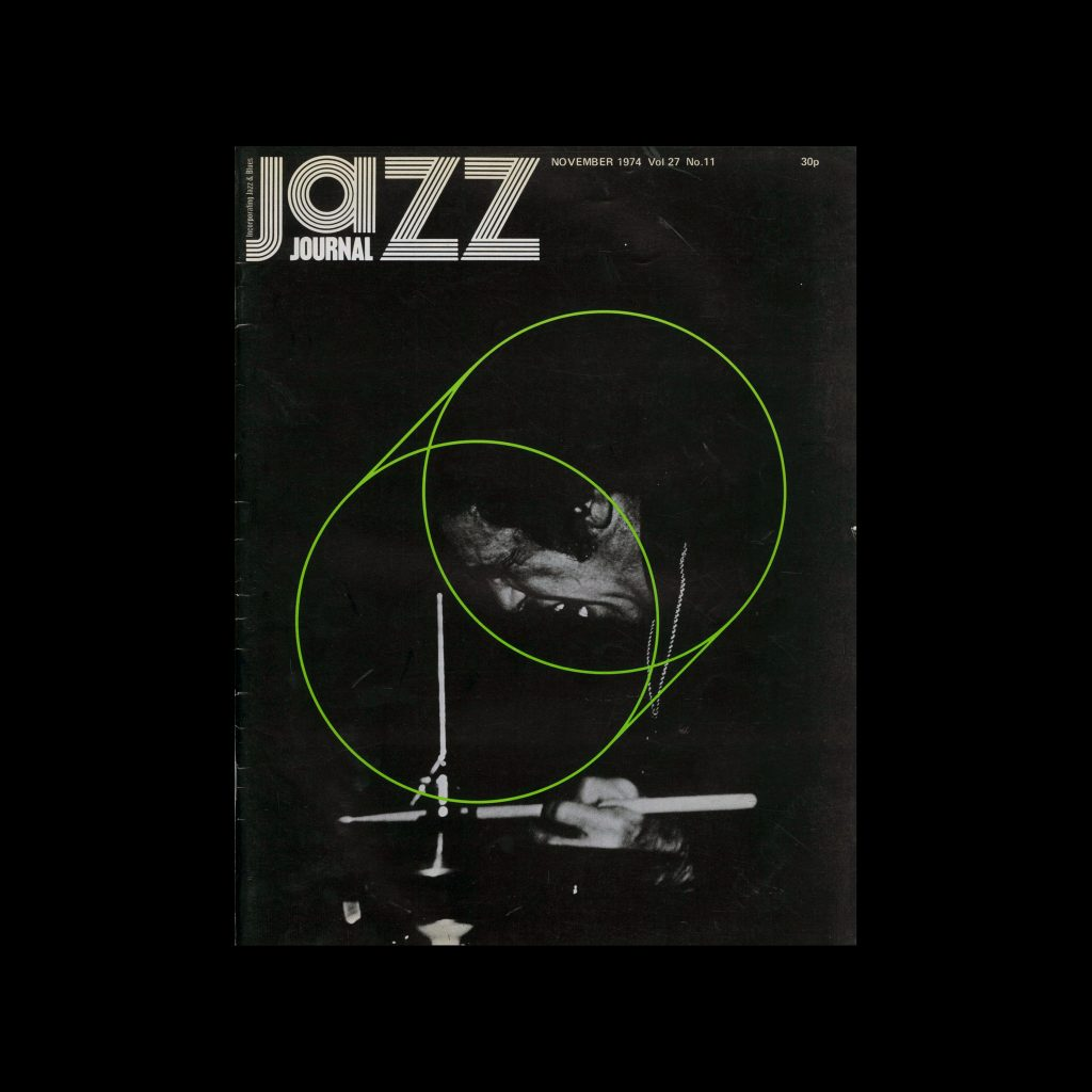 Jazz Journal, 11, 1974. Cover design by Cal Swann