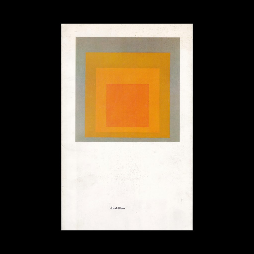 Josef Albers: Ausstellung zum 100. Geburtstag, Ulmer Museum, 1988