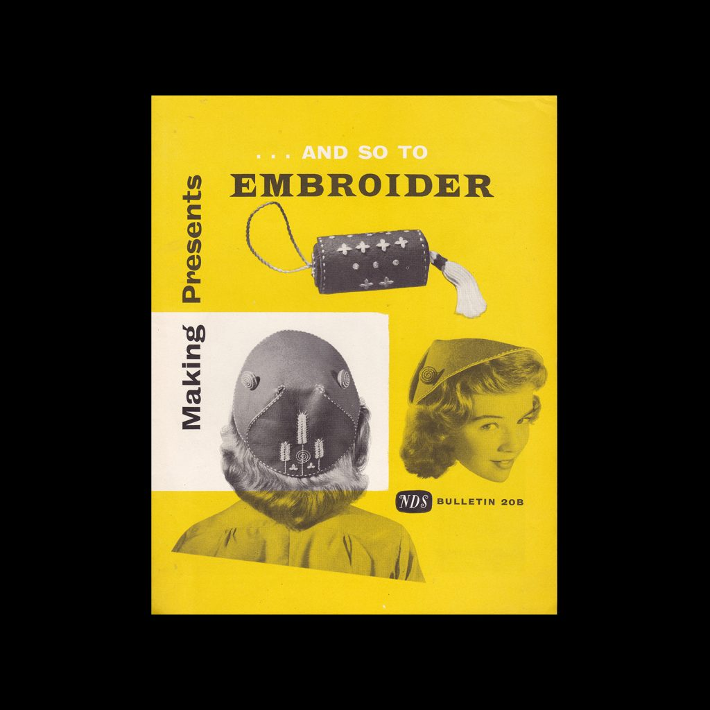 And So To Embroider Bulletin 20b