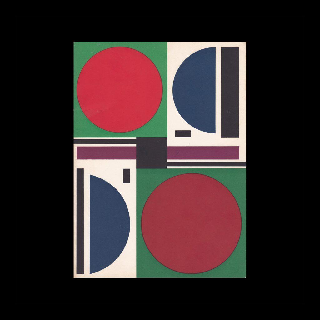 Auguste Herbin, Stedelijk Museum Amsterdam, 1963. Design most likely Willem Sandberg