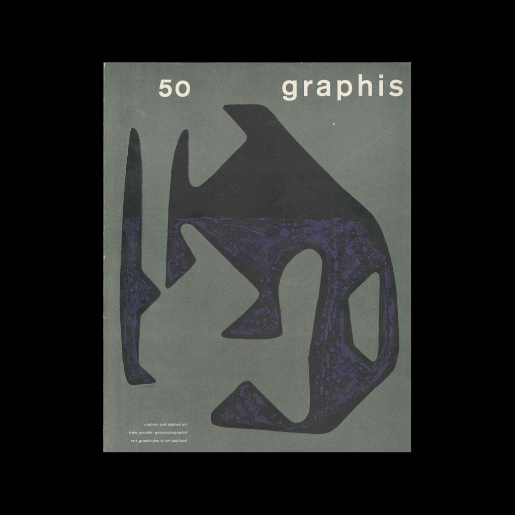 Graphis 50, 1953. Cover design by Gottfried Honegger