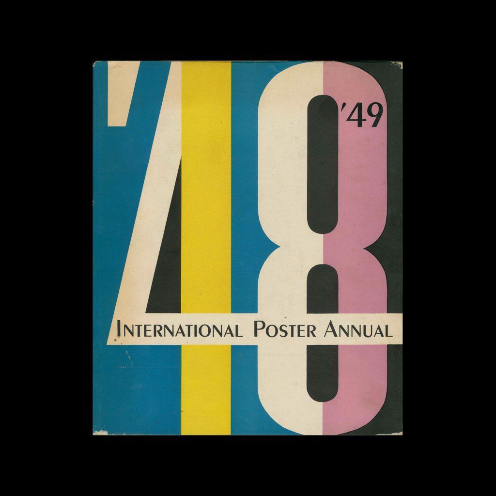 International Poster Annual - 1948   1949. Designed by Walter Allner