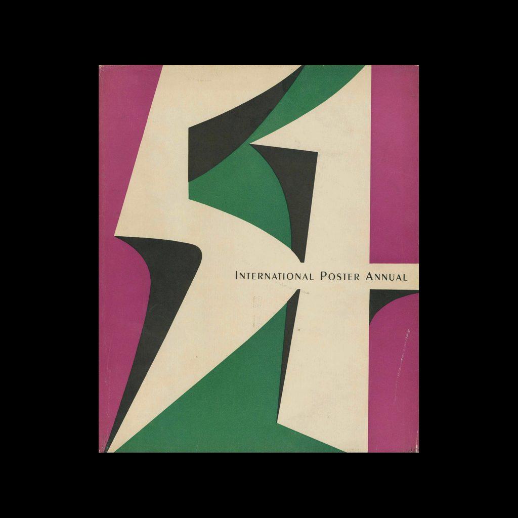 International Poster Annual - 1951. Designed by Walter Allner