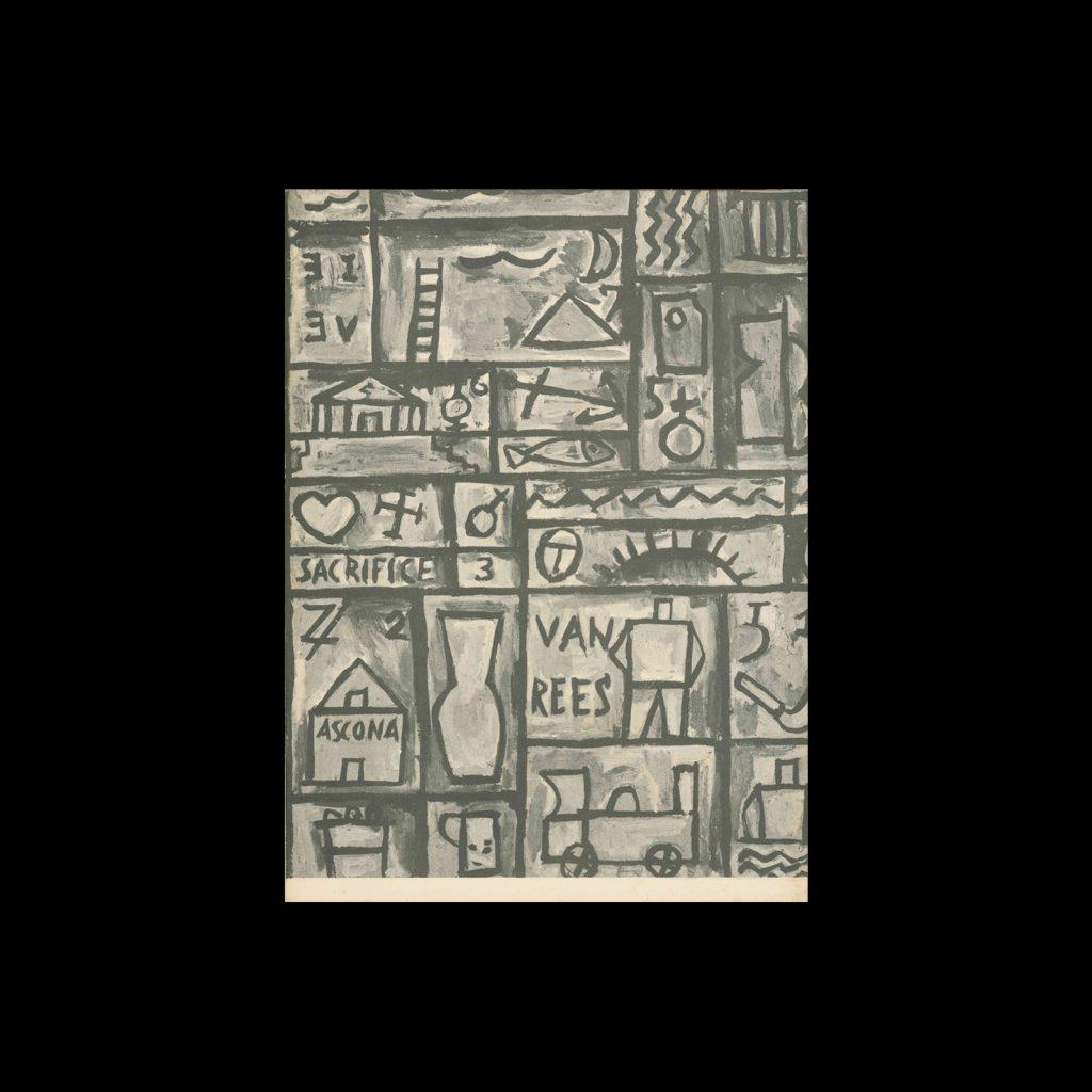 Joaquin Torres Garcia, Stedelijk Museum, 1961. Designed by Willem Sandberg.