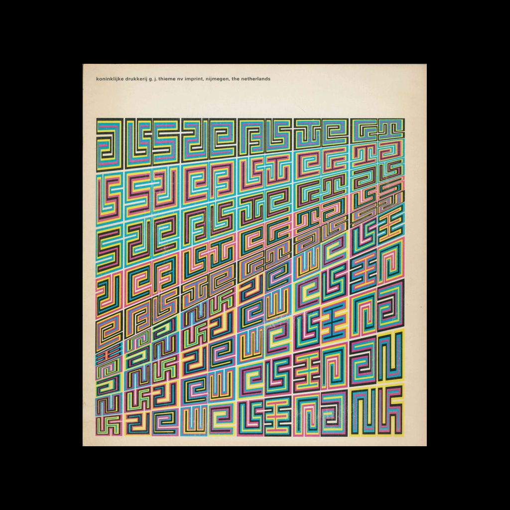Jurriaan Schrofer, Text Bibeb, 1972