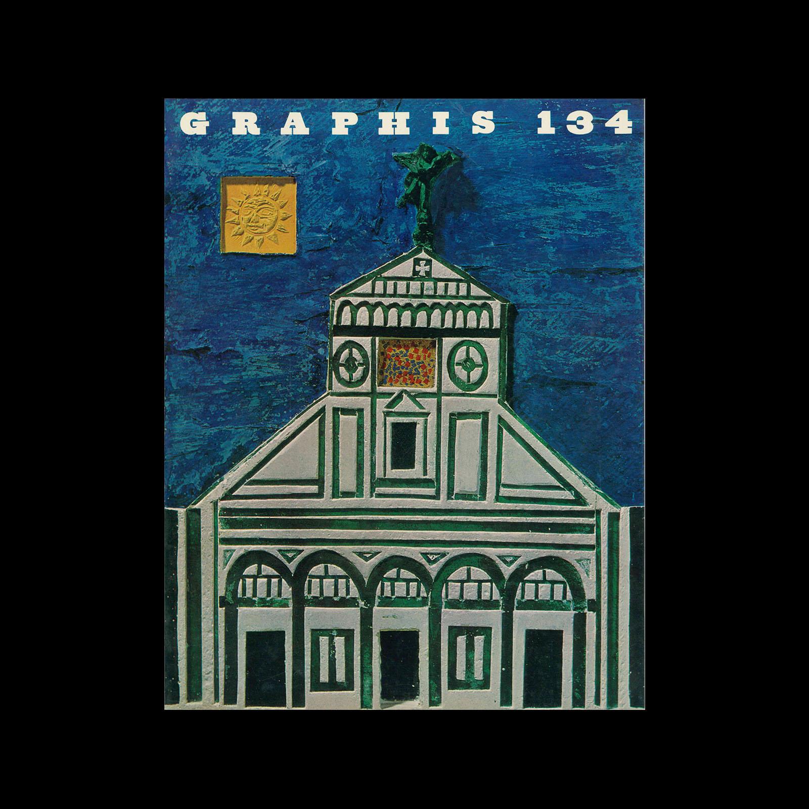 Graphis 134, 1967. Cover design by Antonio Frasconi.