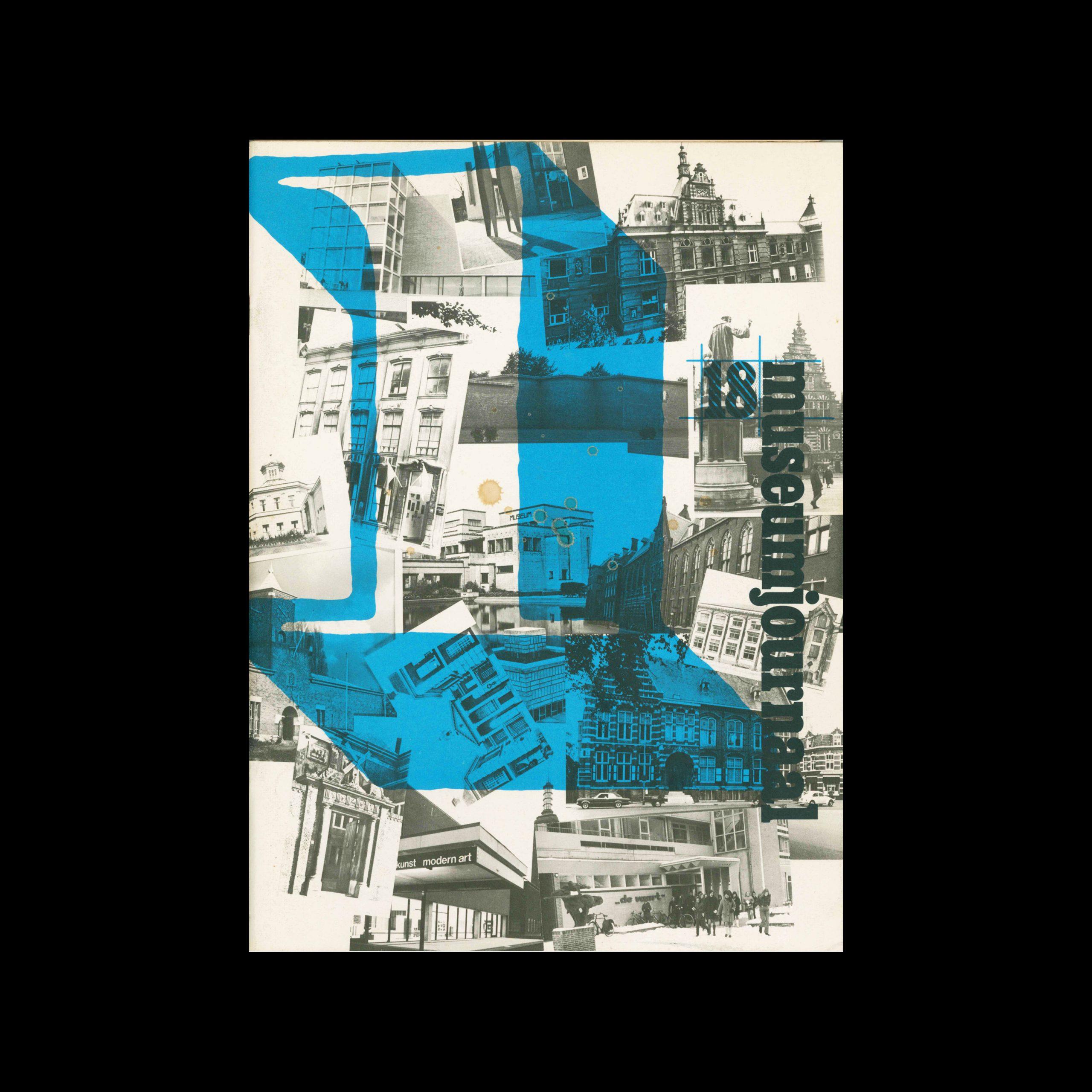 Museumjournaal, Serie 18 no1, 1973. Frank Steenhagen (cover), Jurriaan Schrofer (layout)