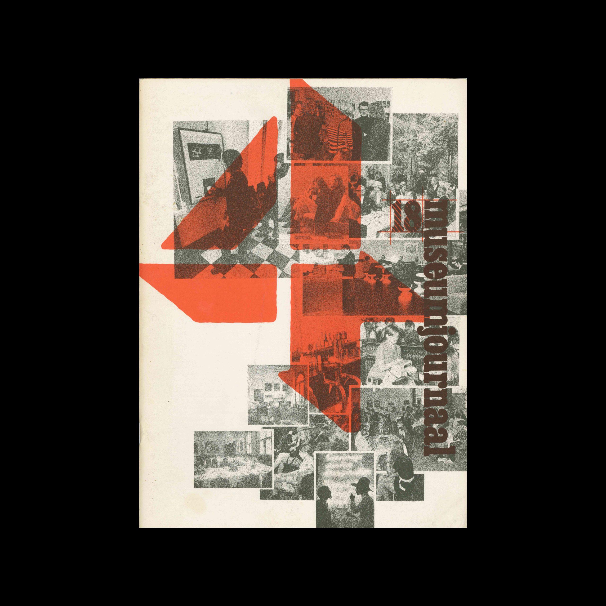 Museumjournaal, Serie 18 no4, 1973. Frank Steenhagen (cover), Jurriaan Schrofer (layout)