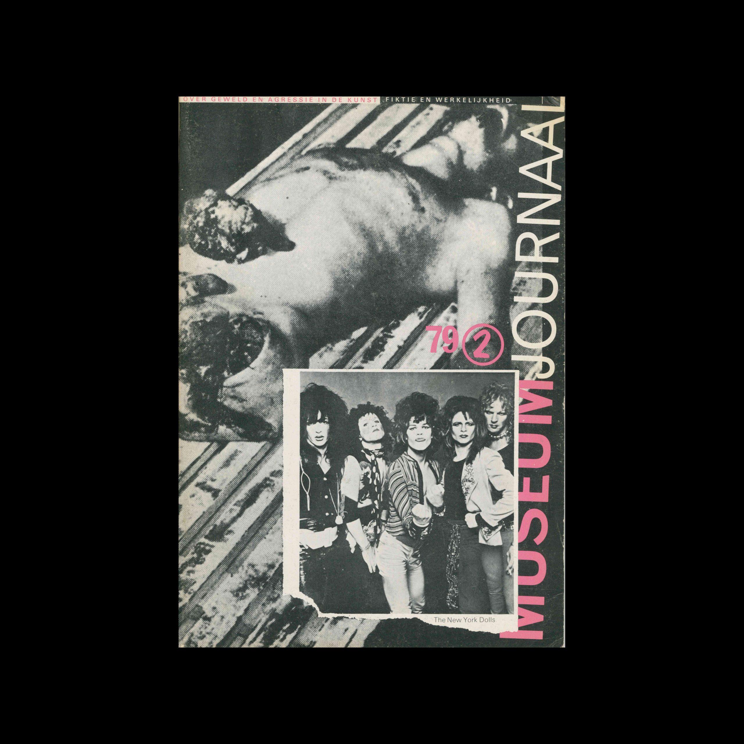 Museumjournaal, Serie 24 no2, 1979. Cover design by Jan van Toorn.