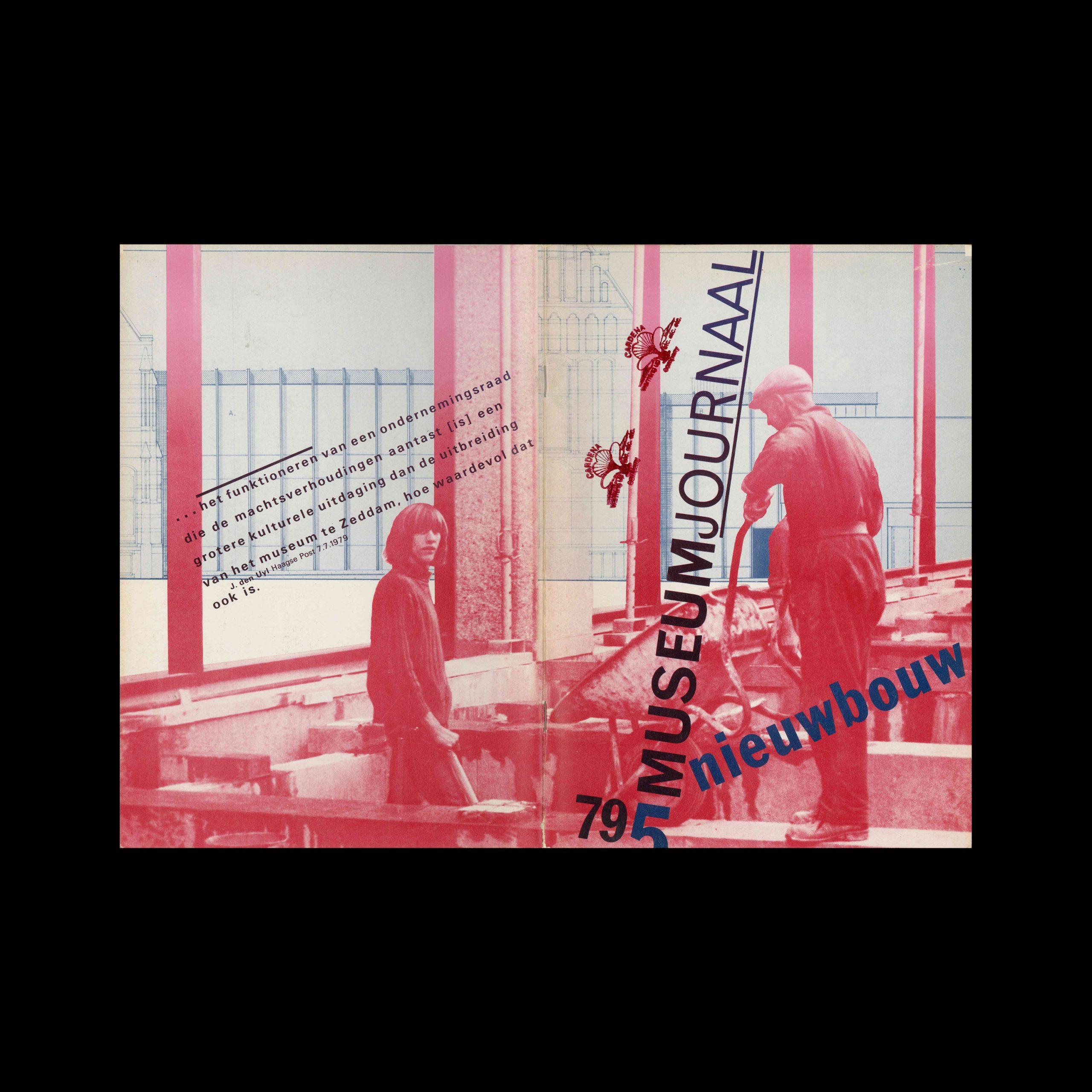 Museumjournaal, Serie 24 no5, 1979. Cover design by Jan van Toorn.