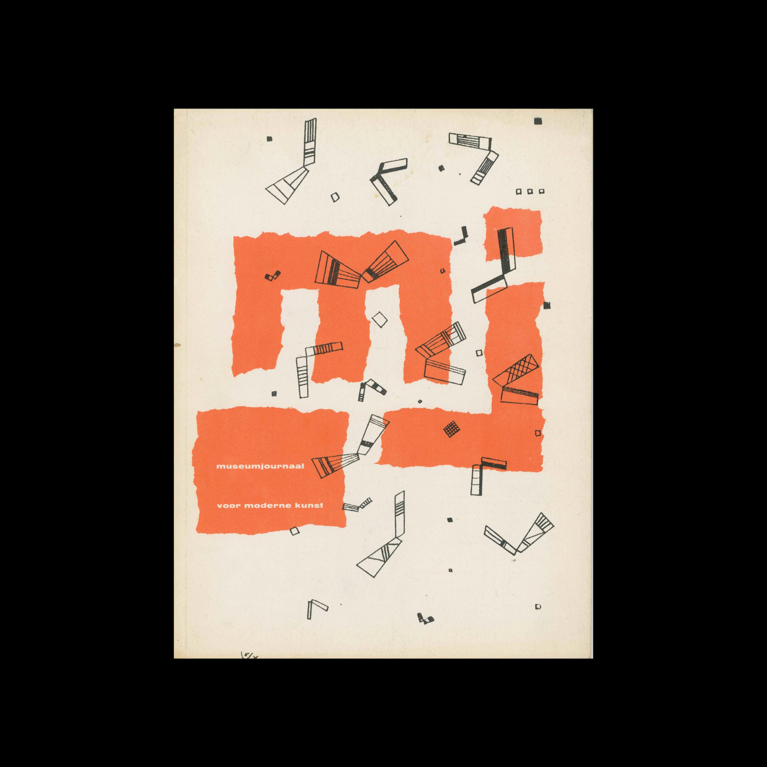 Museumjournaal, Serie 9 no1, 1963. Cover drawing by Wassily Kandinsky.