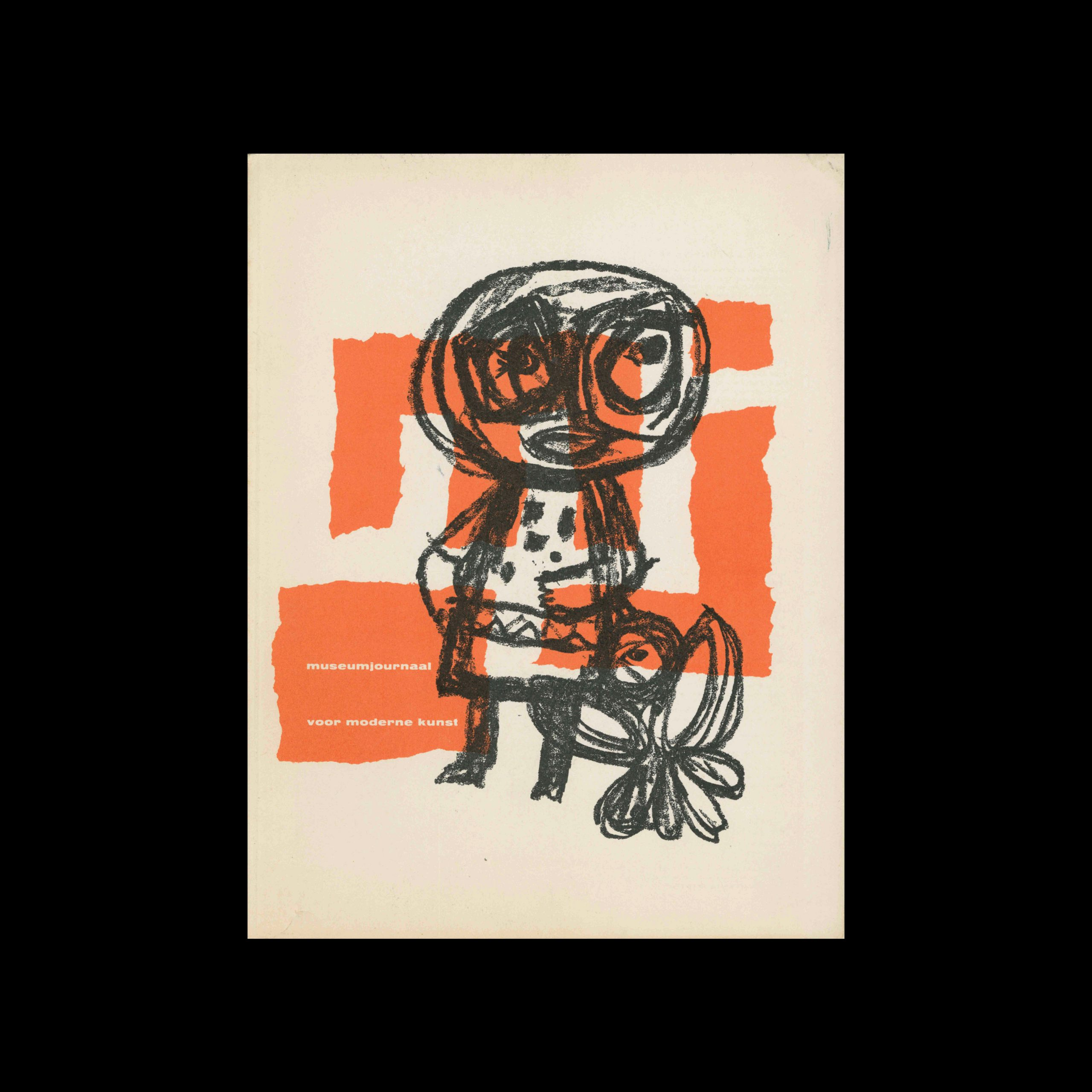 Museumjournaal, Serie 9 no7, 1963. Cover illustration by Gerrit Benner.