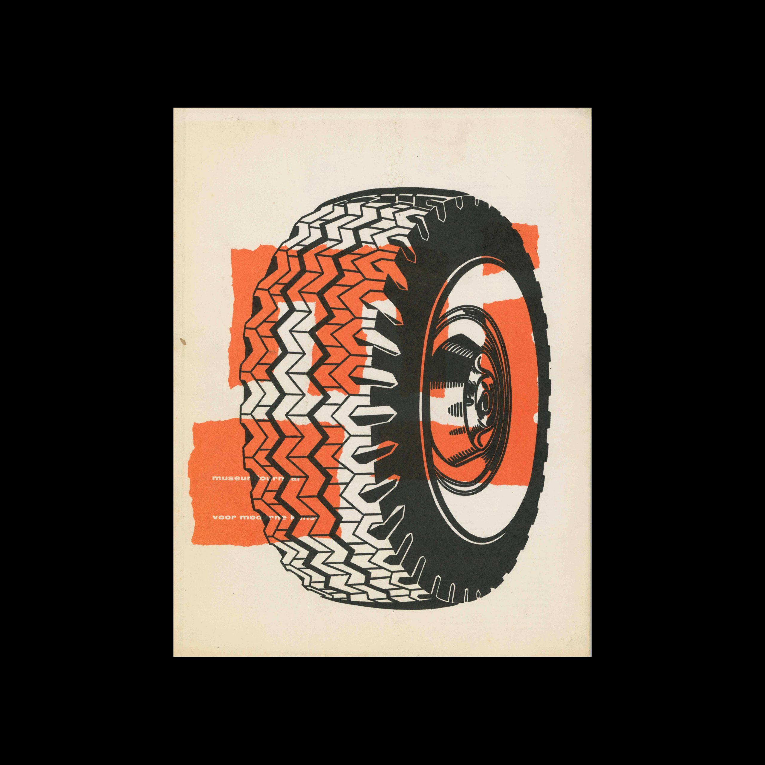 Museumjournaal, Serie 9 no8, 1963. Cover illustration by Roy Lichtenstein.