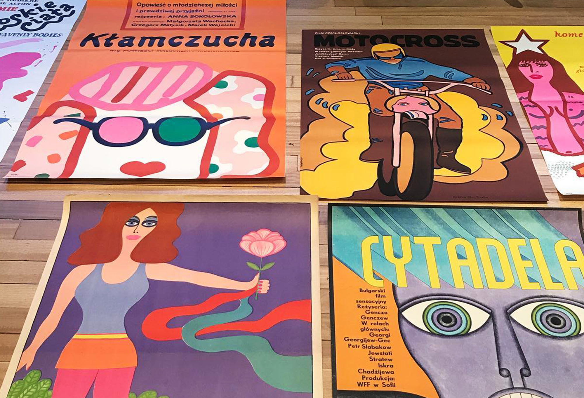 Projekt 26 vintage poster store dedicated to the Polish School of Posters