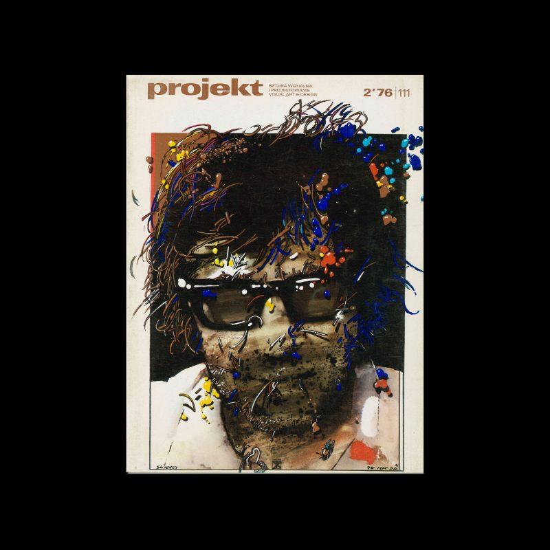 Projekt 111, 2, 1976. Cover design by Waldemar Swierzy