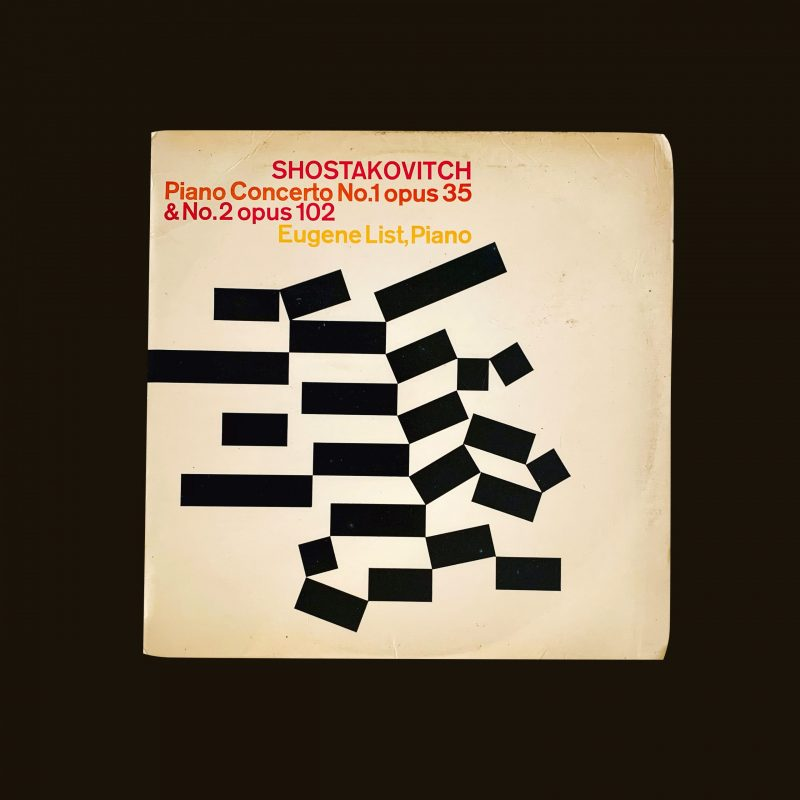 Shostakovich Piano Concerto No. 1 opus 35 & No. 2 opus 102. Record