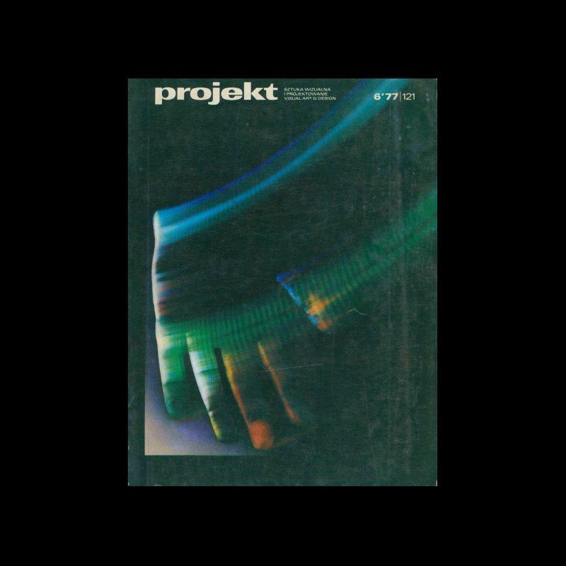 Projekt 121, 6, 1977. Cover design by Rosław Szaybo