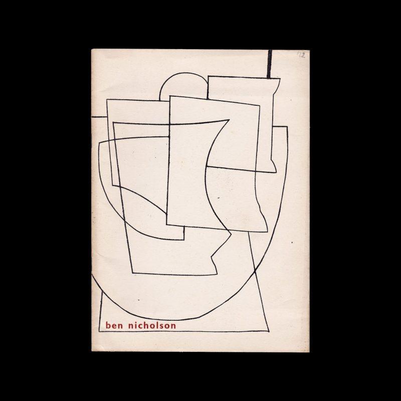 Ben Nicholson, Stedelijk Museum Amsterdam, 1954