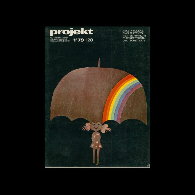 Projekt 128, 1, 1979. Cover design by Janusz Stanny
