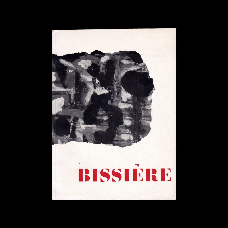 Bissière, Stedelijk Museum Amsterdam, 1958 designed by Willem Sandberg