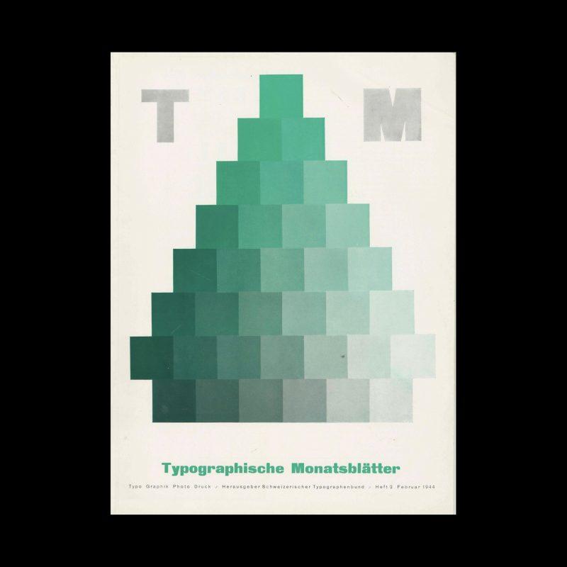 Typografische Monatsblätter, 2, 1944