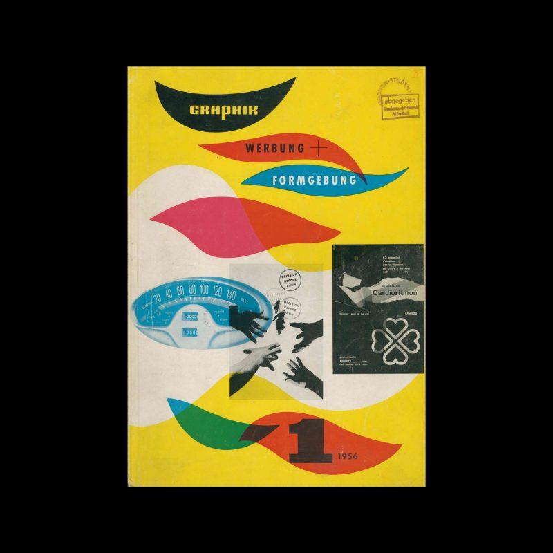 Graphik – Werbung + Formgebung, 1, 1956