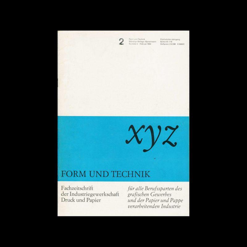 Form und Technik, 2, 1964