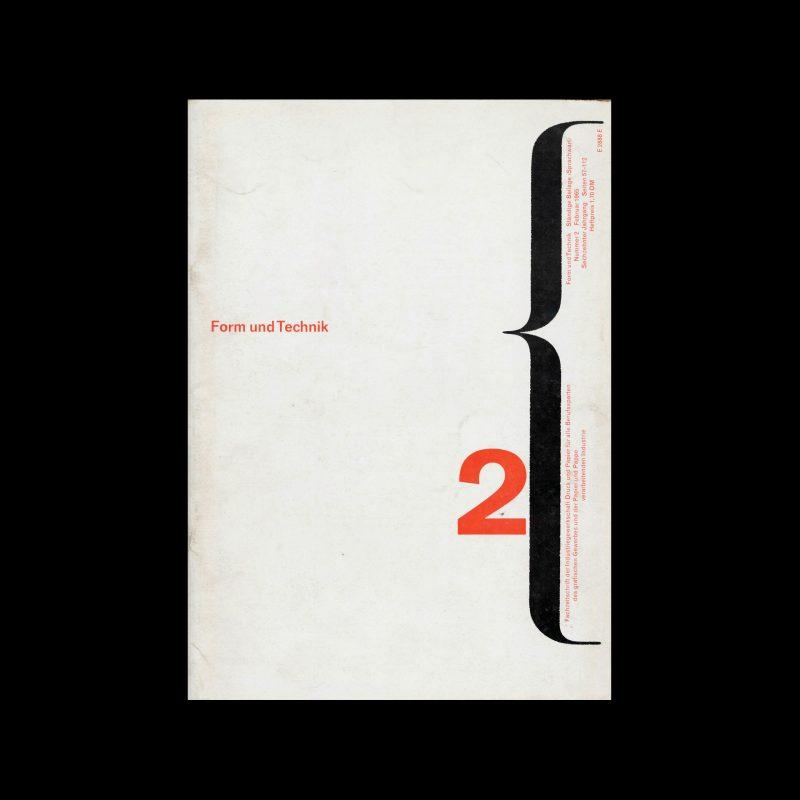 Form und Technik, 2, 1965