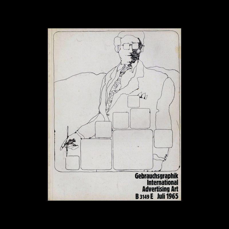 Gebrauchsgraphik, 6, 1965