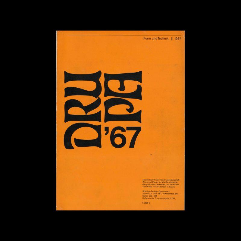 Form und Technik, 5, 1967