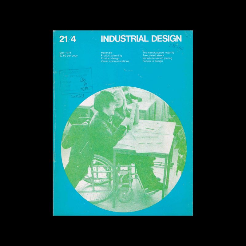 Industrial Design, May, 1974