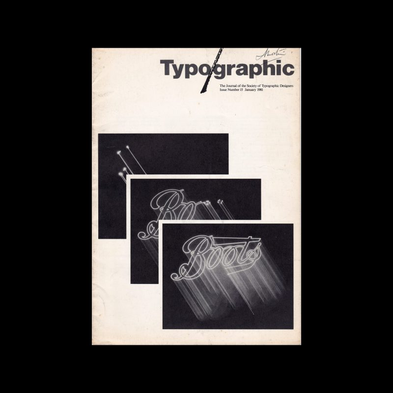Typographic, 15, January 1981