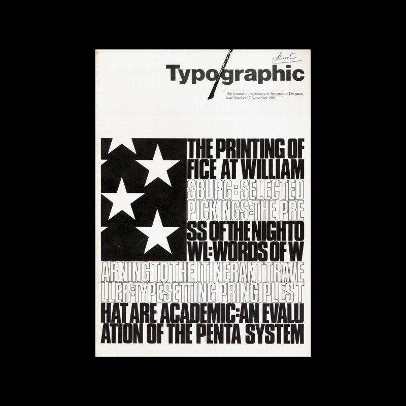 Typographic, 17, November 1981