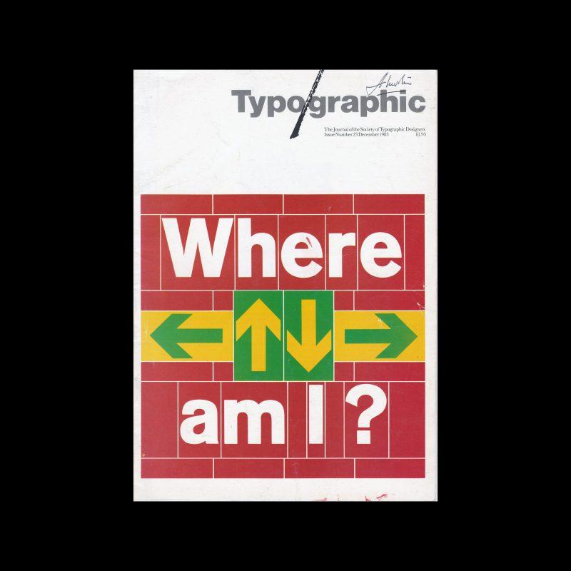 Typographic, 23, December 1983