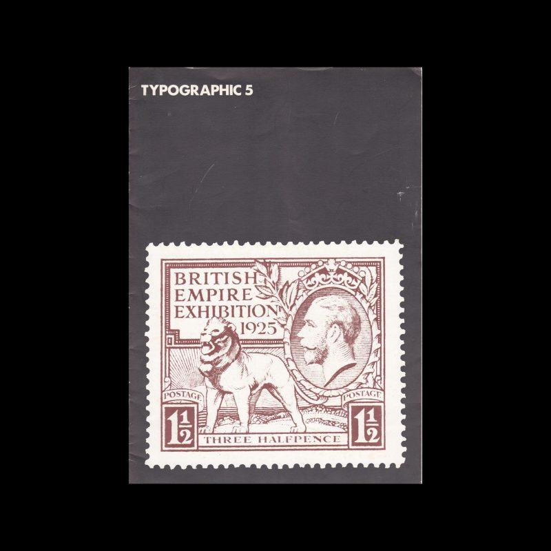 Typographic, 5