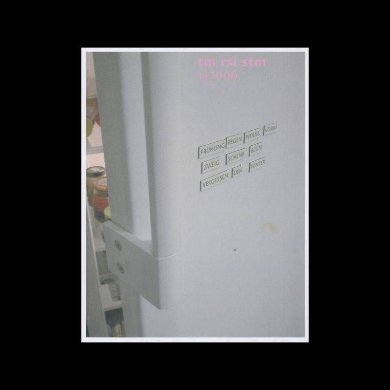 Typografische Monatsblätter, 1, 2006