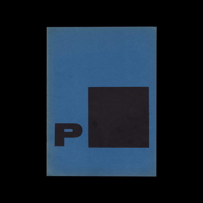 Piet Zwart - Typotekt, Stedelijk Museum Amsterdam, 1961