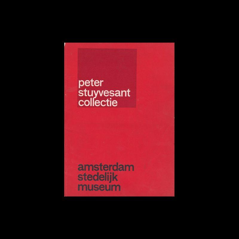 Peter Stuyvesant Collectie, Stedelijk Museum, Amsterdam, 1962 designed by Wim Crouwel