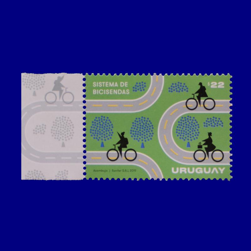 hilately · Bicycle Lane System · Martín Azambuja · 2019.