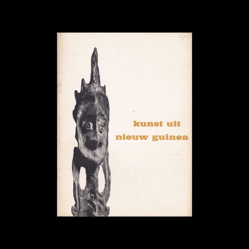 Kunst uit Nieuw Guinea, Stedelijk Museum Amsterdam, 1963