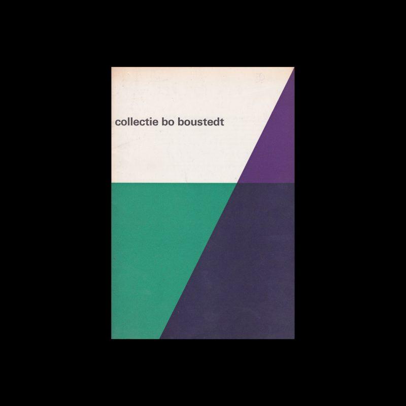 Collectie Bo Boustedt, Stedelijk Museum, Amsterdam, 1964 designed by Wim Crouwel