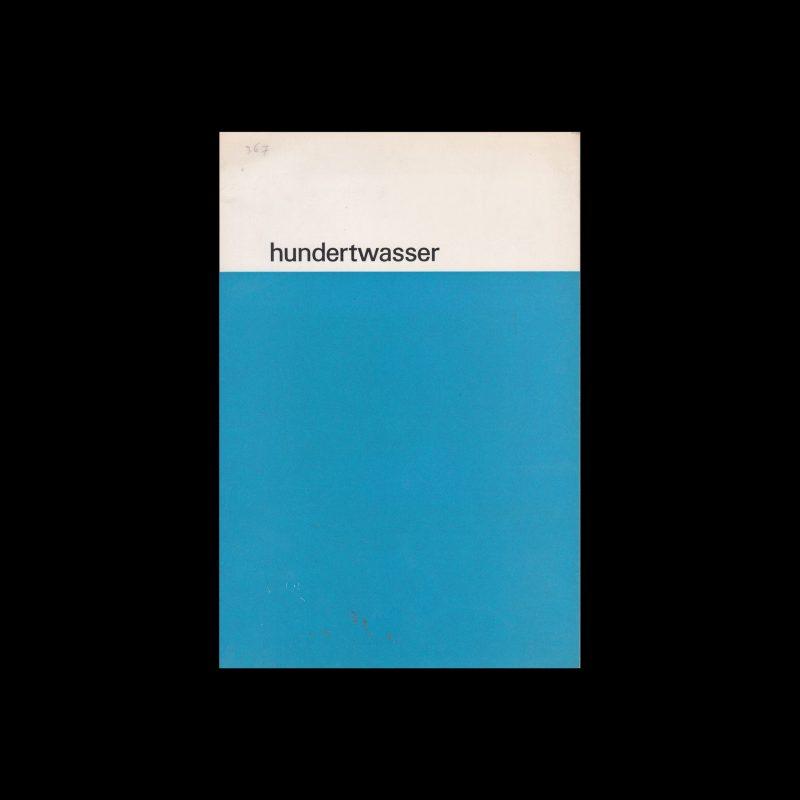 Hundertwasser, Stedelijk Museum, Amsterdam, 1964 designed by Wim Crouwel