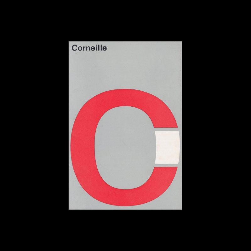 Corneille, Stedelijk Museum, Amsterdam, 1966 designed by Wim Crouwel (Total Design)