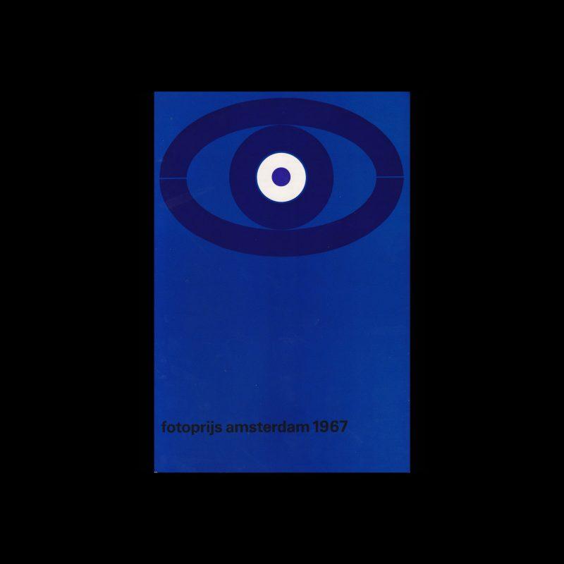 Fotoprijs Amsterdam 1967, Stedelijk Museum, Amsterdam, 1967 designed by Wim Crouwel and Josje Pollmann (Total Design)