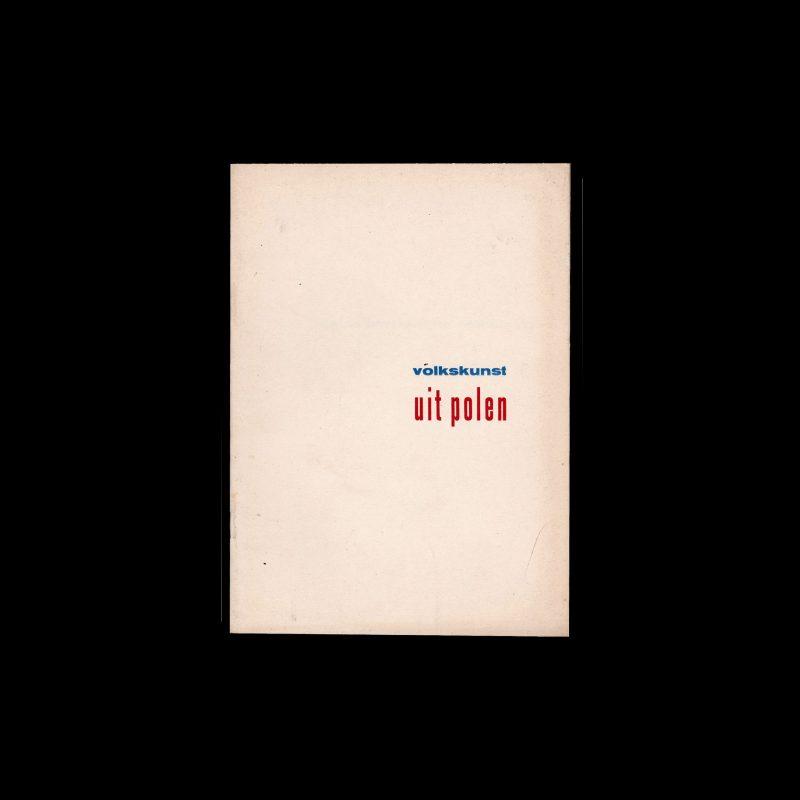 Poolse christelijke volkskunst, Stedelijk Museum Amsterdam, 1949 designed by Willem Sandberg