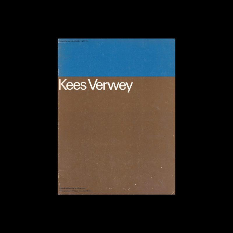 Kees Verwey, Stedelijk Museum, Amsterdam, 1978 designed by Wim Crouwel (Total Design)